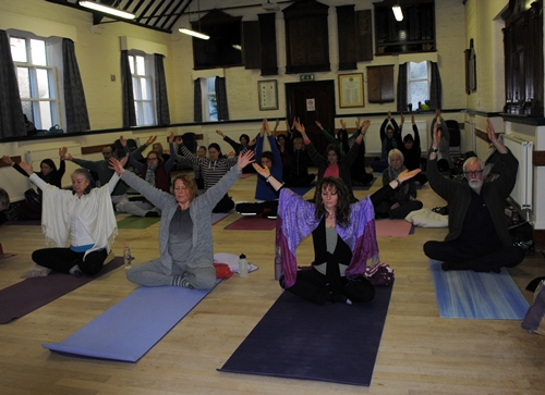 Yoga classes in Cheshire, Staffordshire, Merseyside,Wirral